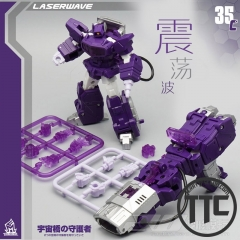 MechFansToys MFT  MF35C Laserwave Shockwave G1 Color Version