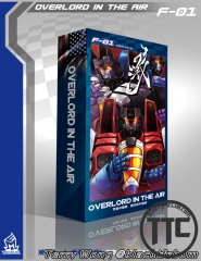 Mechfanstoys F-01 Overlord in the air Starscream Skywarp Thundercracker