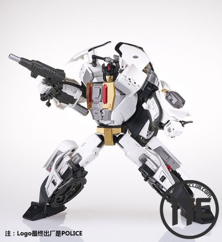 Generation Toy Guardian GT-08D Motor Groove Defensor