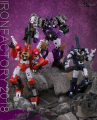 "IronFactory IF EX32 EX33 Phecda & Mizar Spirits of The ""D.E.C"" Vos Kaon Set of 2 DJD"