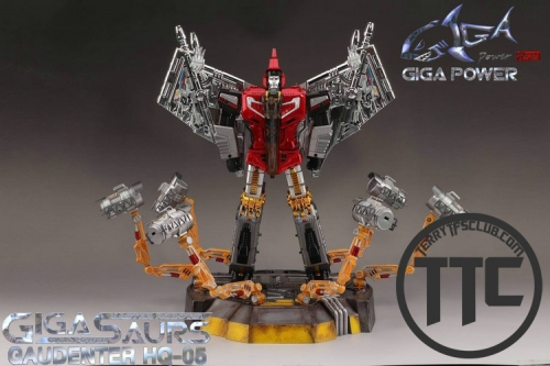 Gigapower GP HQ05R Gaudenter Chrome Red ver. Swoop
