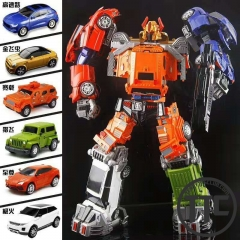 Weijiang WJ Throttlebots Team set of 6 with combiner parts