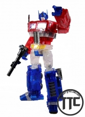 WeiJiang WJ MPP10A Optimus Prime Transparent Optimus Prime Oversized