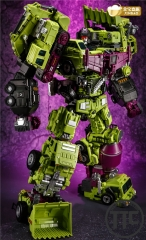 Jinbao DF-03 Oversized OS Devastator Full Set of 6 Gravity Builder & Upgrade kit LOOSE