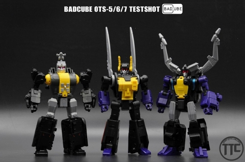 Badcube BC OTS5/6/7 OTS-5/6/7 Insection pack toon version