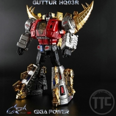 Gigapower GP HQ03R Guttur Chrome ver. Snarl