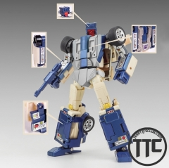 X-Transbots MX-13T Crackup Youth Version Monolith