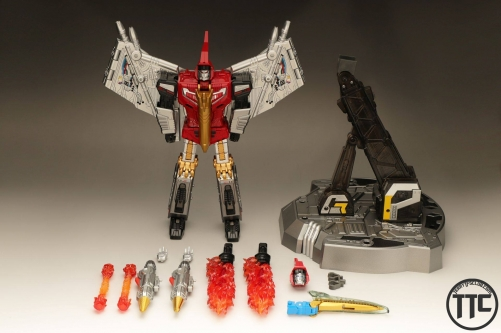 Gigapower GP HQ05 Gaudenter Metallic ver. Swoop Red