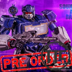 Threezero 3A DLX Deluxe Scale Soundwave & Ravage