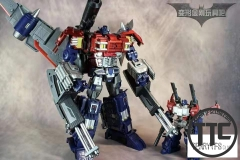 Civil Warrior CW01 General Grant Dreamwave The War Within Optimus Prime OP