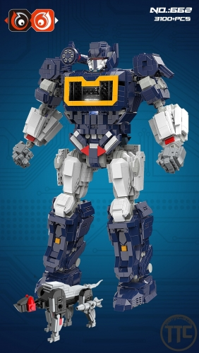 66 Bricks No.662 3100+ Pcs Soundwave with ravage Legoing bricks