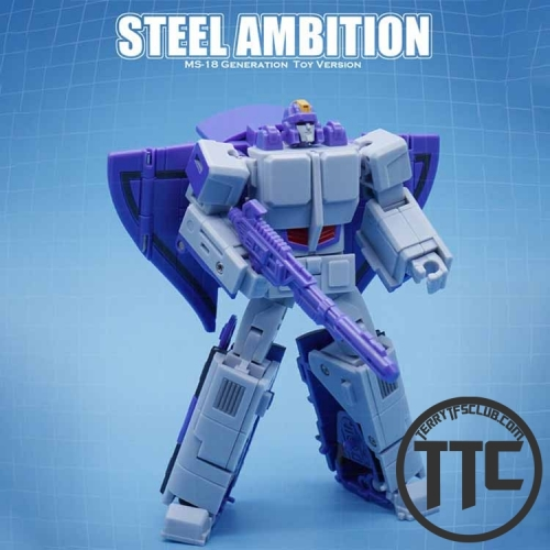 MechFansToys Mechanic Toys MS18 Steel Ambition Astrotrain