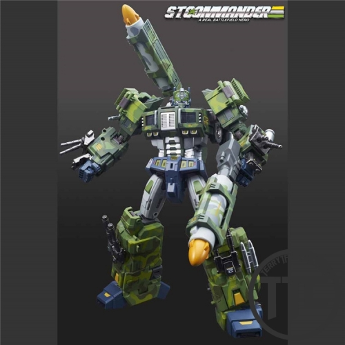 TFC Toys STC-01NB Supre_me Techtial Commander Optimus Prime Nuclear Blast Version