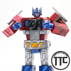 TransformElement TE-01C TE01C Masterpiece MP-10 MP10 Optimus Prime cell shaded version