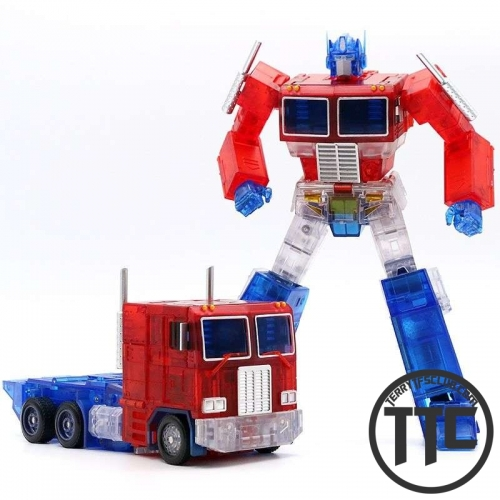 TransformElement TE-01T TE01T Masterpiece MP-10 MP10 Optimus Prime Clear version