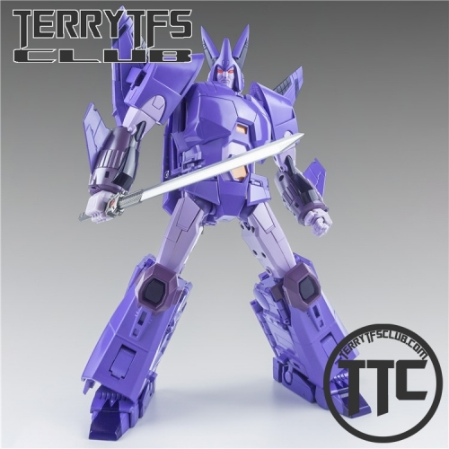 [PREORDER]X-Transbots MX-3+ Eligos Cyclonus Metallic Version