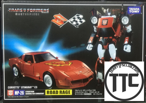 4th Party Masterpiece MP26 Roadrage