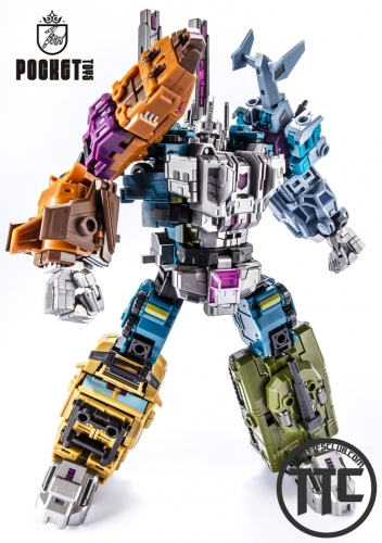 Pocket Toys PT-05 KO Iron Factory Bruticus set of 5
