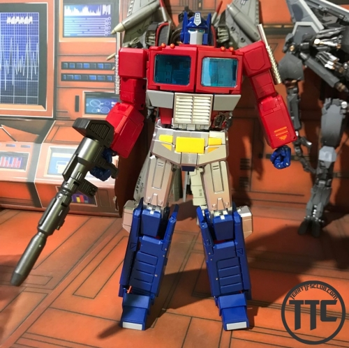 No Brand Masterpiece MP44 Optimus prime Silver leg version