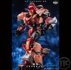 [Canada buyer only] Cang-Toys CT-02 Landbull Tantrum Predaking Combiner