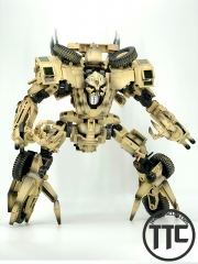 TF Dream Factory GOD09S Steel Claw Bonecrusher Movie Leader Class Smoke Paint Version
